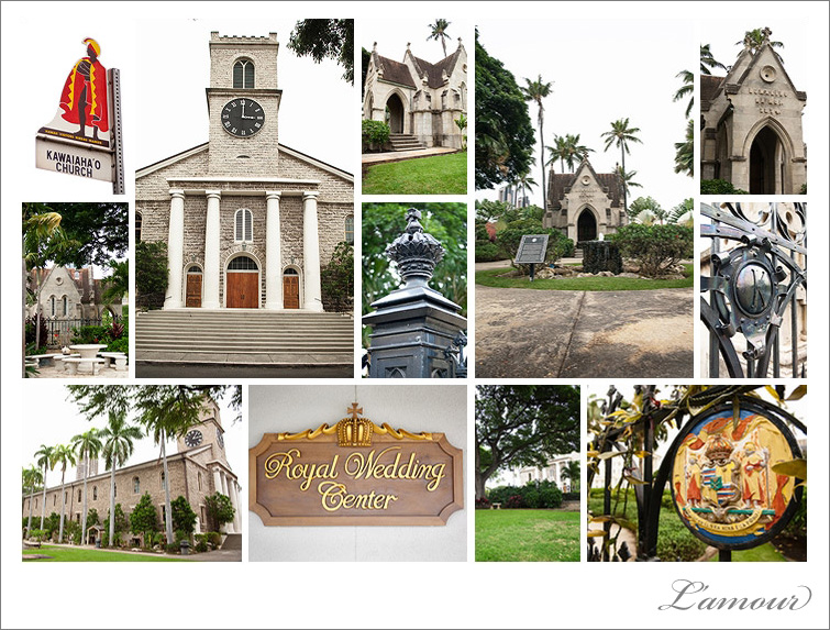 Historical Honolulu Kawaiahao Church Cathedral Oahu Photographs