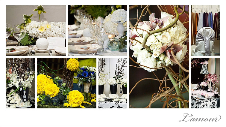Wedding Photography of Wedding Cafe in Honolulu Floral and Tabletop decor