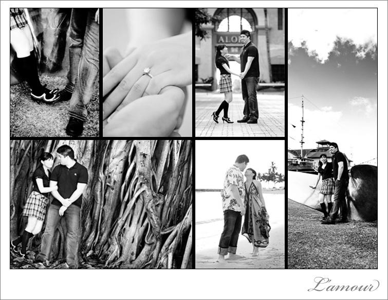 Oahu Engagement Photographer in Honolulu and Waikiki in Hawaii