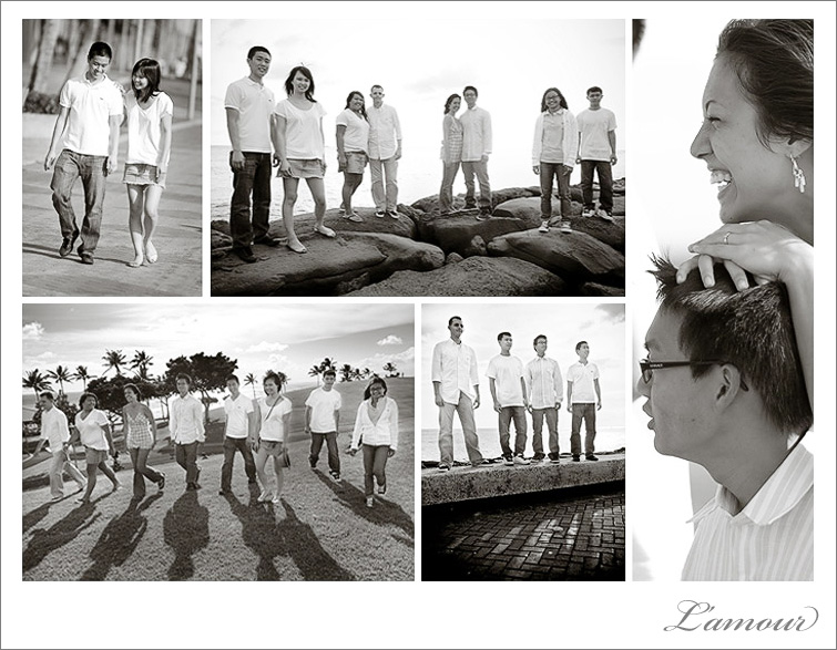 Family and engagement portrait photographer in Oahu Hawaii