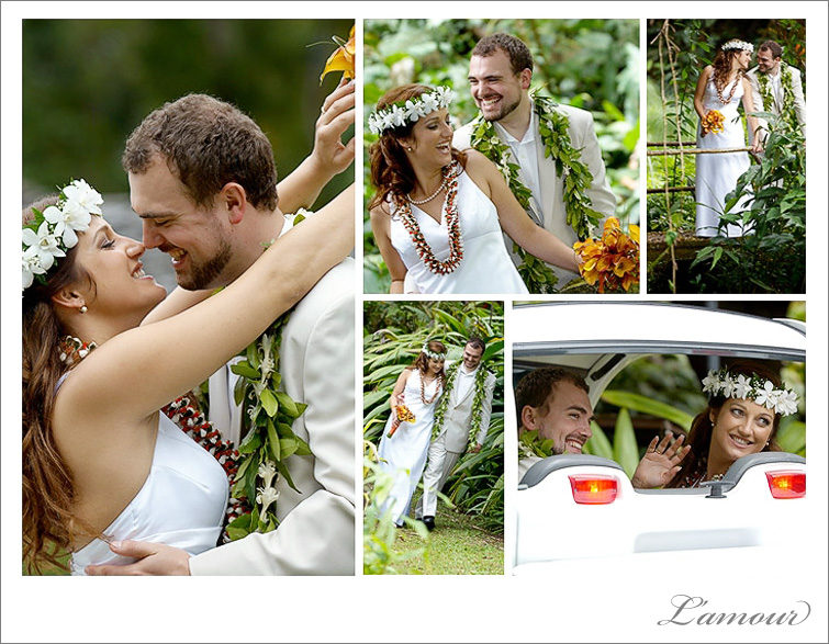 L'amour Oahu Wedding Photographer