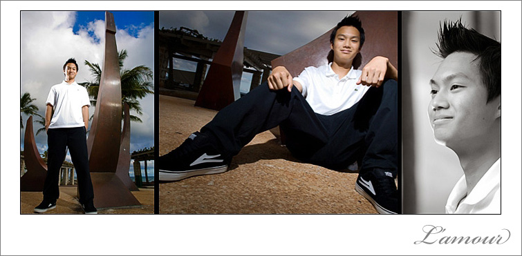 Hawaii Senior portraits on Oahu