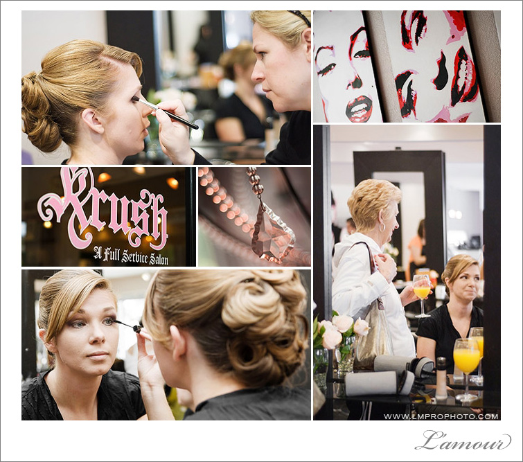 Northern California Wedding Preparation at Crush Salon Los Gatos
