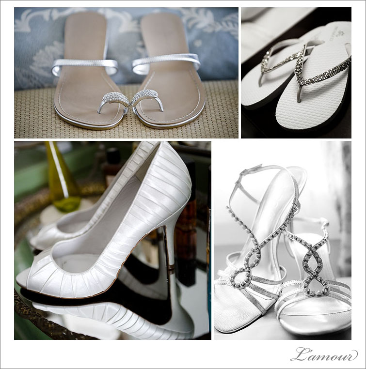 Wedding shoes from destination weddings