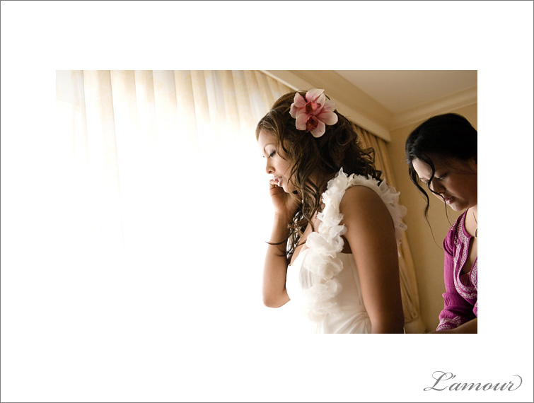 Destination Wedding dress preparation for a beautiful Hawaii Beach Wedding and Waikiki Reception