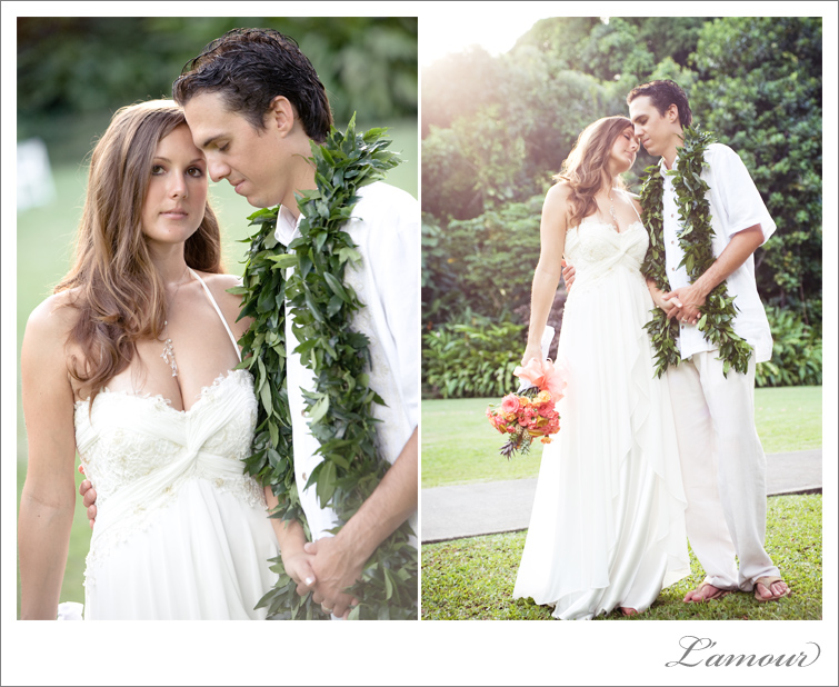 Hawaii Wedding Photographers L'Amour Photography is based in Honolulu Oahu