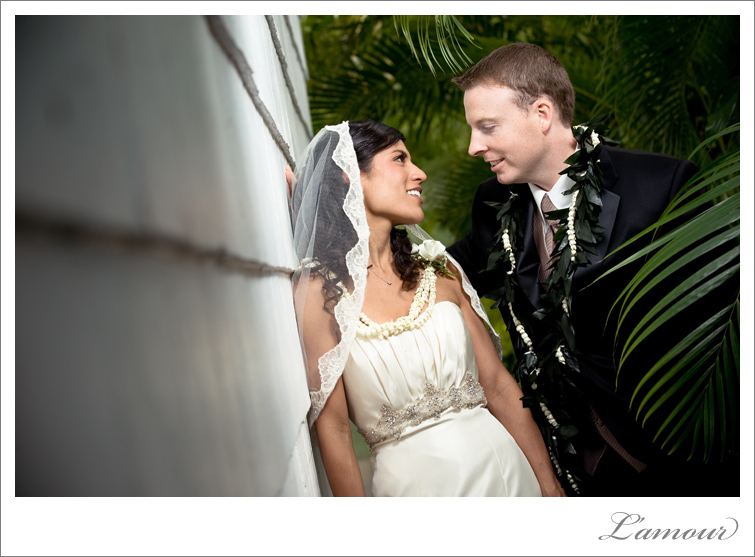 Hawaii Wedding Photography at Bayer Estate Bride Groom Portraits