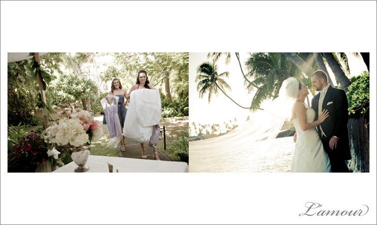 Vintage Style Hawaii Wedding Photography based in Honolulu Oahu by  Lamour