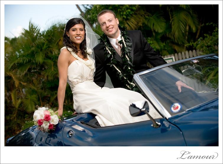 Hawaii Wedding Portrait