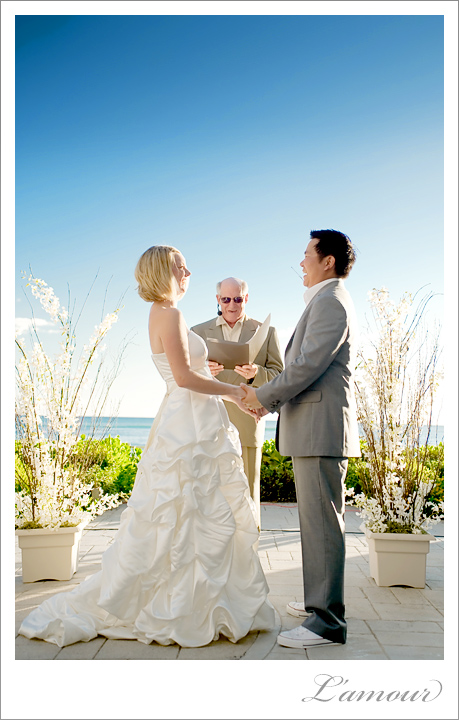 Hawaii Wedding Photographers for this Waikiki Destination Ceremony at Sheraton Moana Surfrider hotel