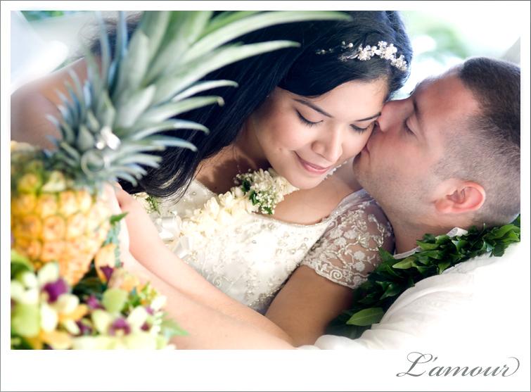Hawaii Wedding at Moli'i Gardens Oahu wedding venue at Kualoa Ranch