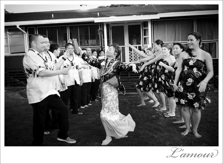 Mother of the Bride dances her way through groomsmen and bridesmaids