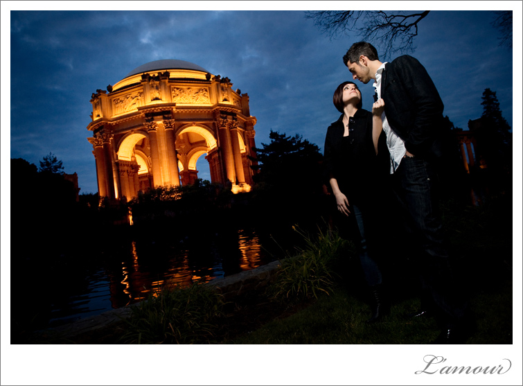 San francisco Bay Area Engagement Portrait