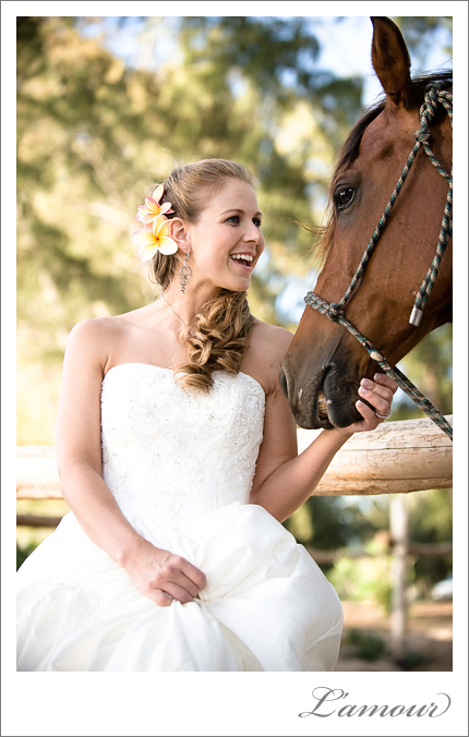 horse stables wedding