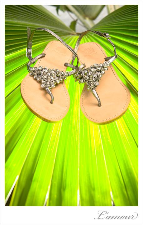 Destination Wedding Shoes for Hawaii Beach Wedding