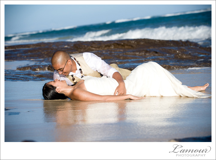 Trash the Dress Hawaii by L'Amour Hawaii Wedding Photography