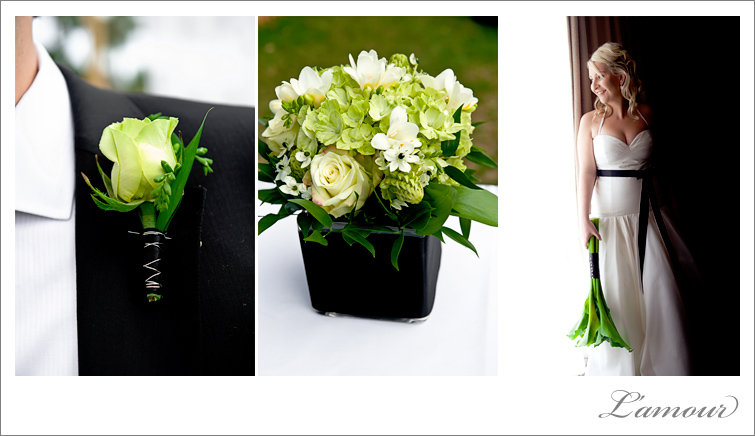 Hawaii Wedding Photographer Ihilani Resort Black White And Green