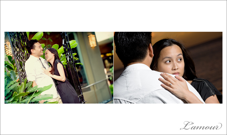 Honolulu Wedding and Engagement Photos by L'Amour Photography