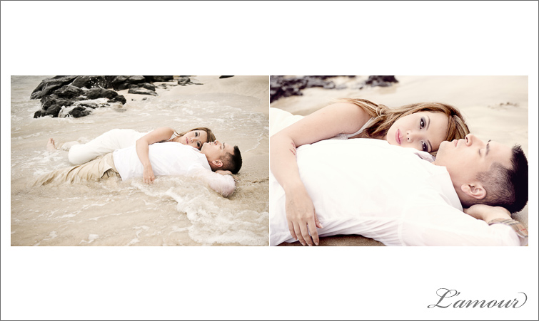 Hawaii Wedding Photography and Trash the Dress Session