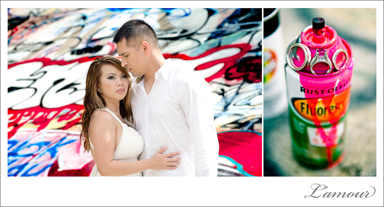 Trash the Dress Session in Hawaii with Spraypaint