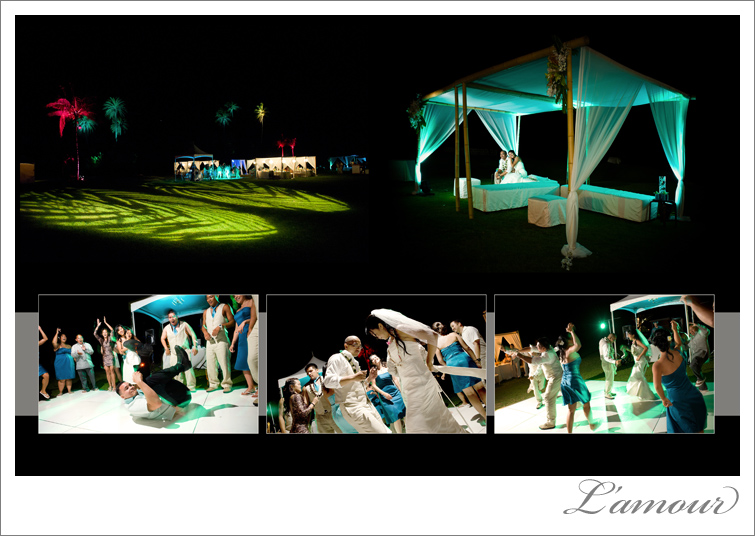 Oahu Wedding Reception photography by Lamour