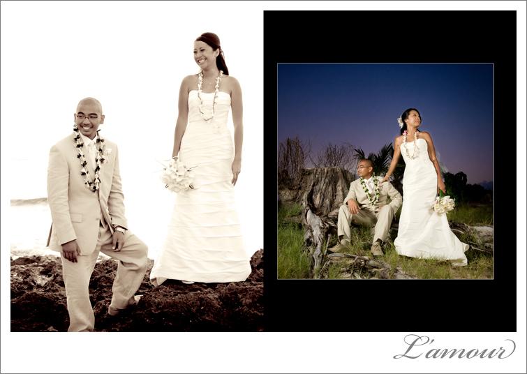 Hawaii Wedding Photography based on Oahu L'Amour