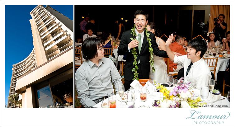 Waikiki Wedding Reception Photography