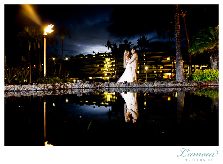 Hawaii Wedding Photography in Maui by Lamour