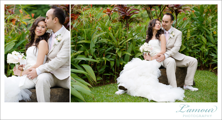 Oahu Hawaii Wedding Photography by L'Amour Photographers