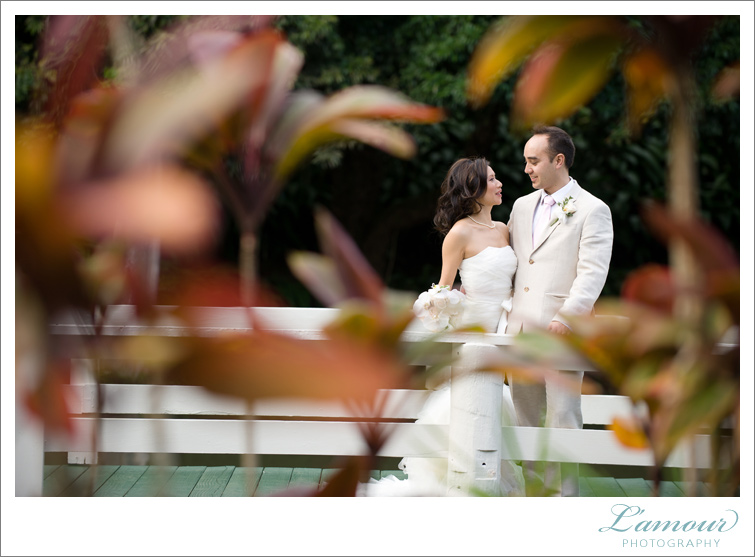 Garden Hawaii Wedding Photography by L'Amour