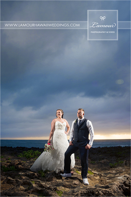 Hawaii Wedding at Turtle Bay Resort Oahu