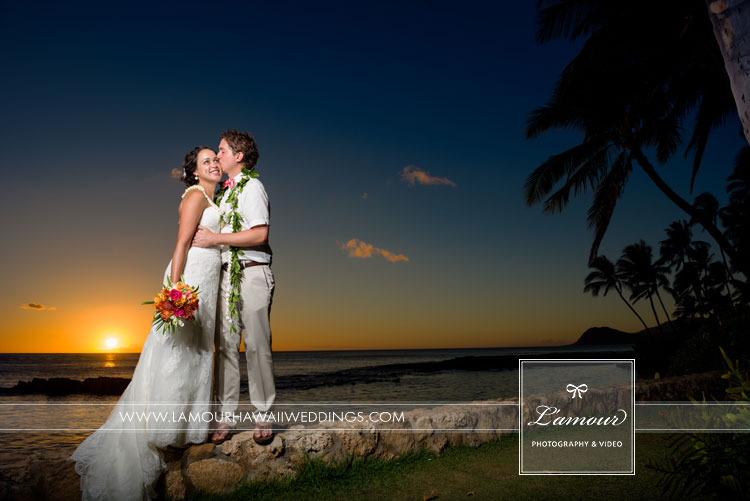 Lanikuhonua Wedding Photographers Lamour