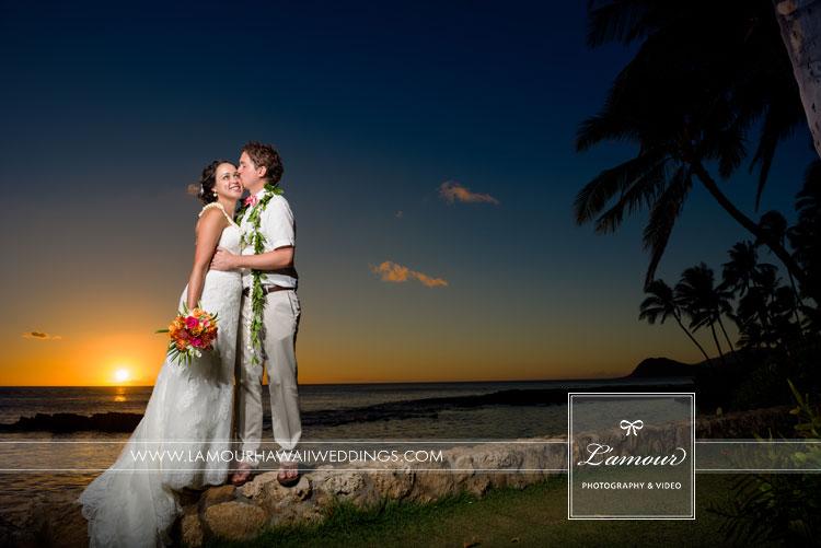 Lanikuhonua Wedding Photographers Lamour