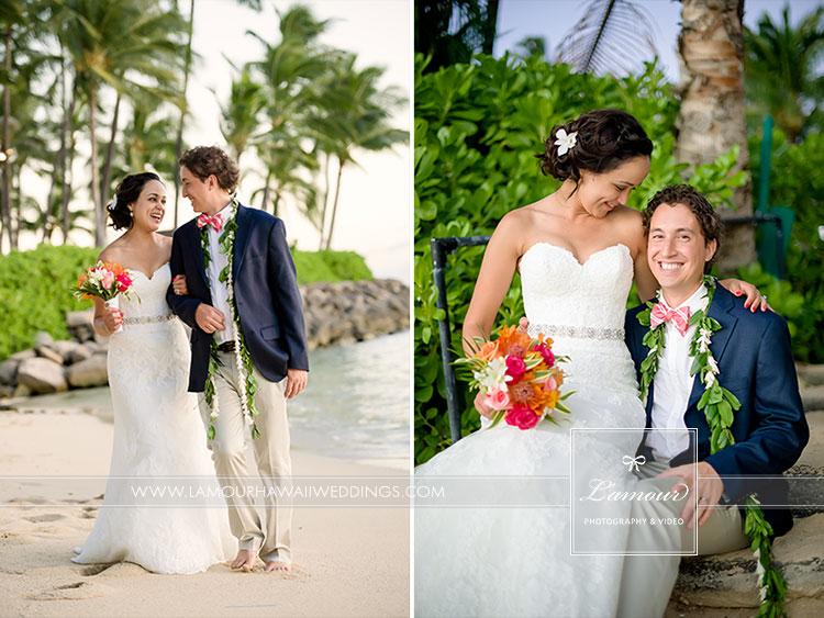 Hawaii wedding photography Lanikuhonua Wedding
