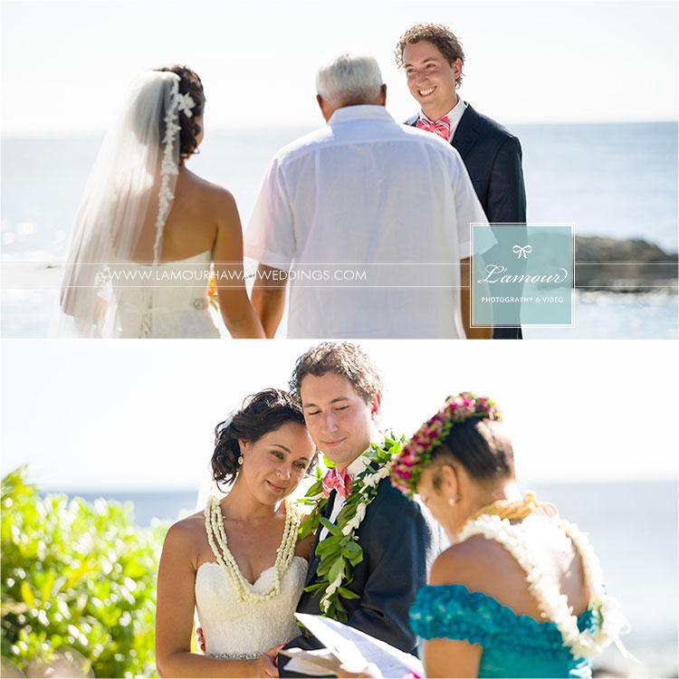 Lanikuhonua Wedding Ceremony photography by Lamour