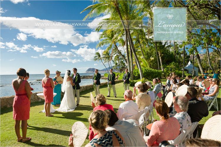Lanikuhonua Wedding Ceremony Photos