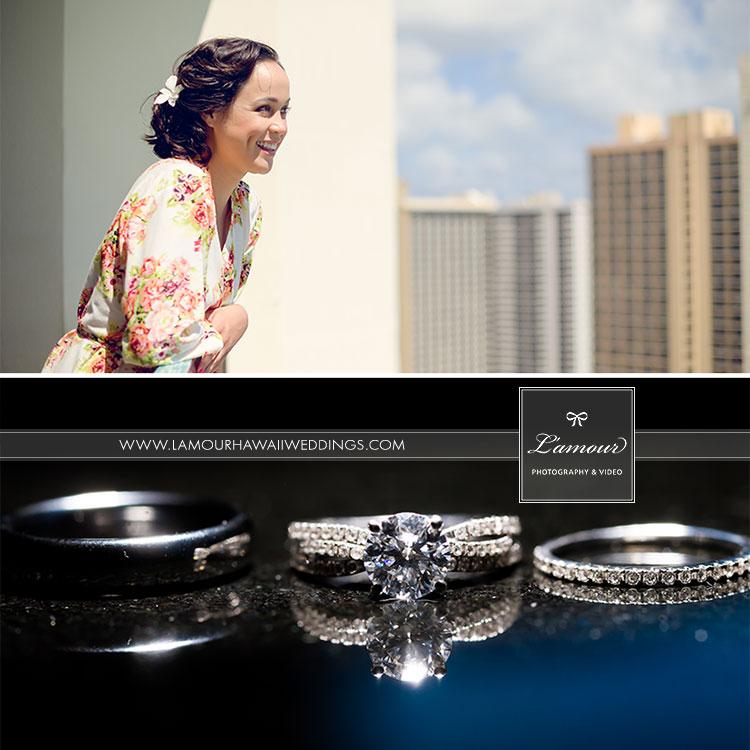 Waikiki wedding bride in Hawaii