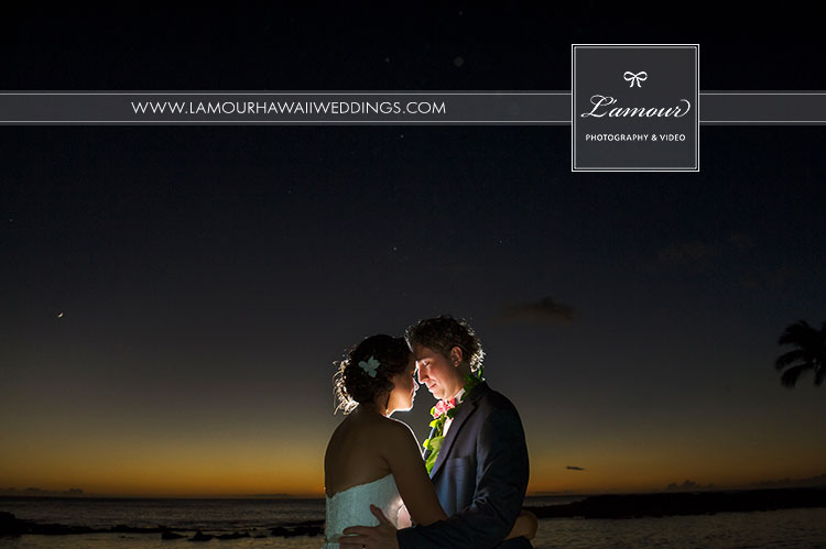 Hawaii wedding photographers best sunset