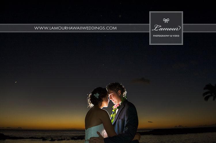 Hawaii wedding photographers best sunset