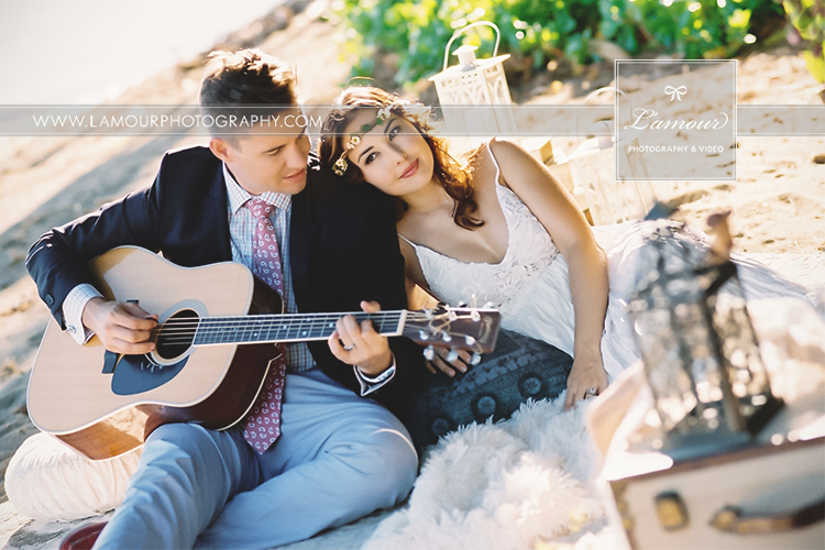 Eric Mansperger and Wendy Leslie of Lamour Photography share photos from Wedding in Hawaii