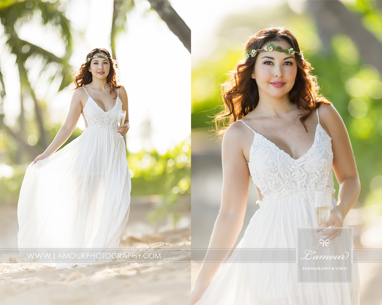 Hawaii wedding photographers from Lamour wendy and eric share their video