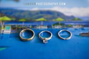 Wedding photography of St Regis Hawaii Wedding in Kauai Hawaii
