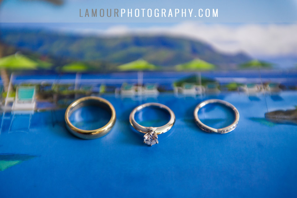Wedding photography of St Regis Hawaii Wedding in Kauai Hawaii