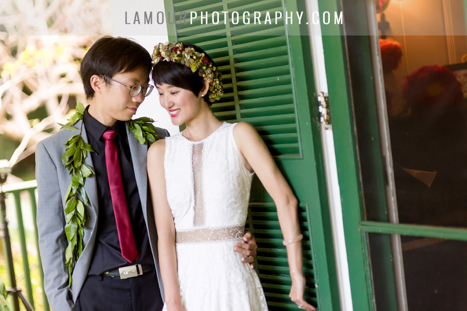 chinese wedding in hawaii oahu or maui by L'Amour