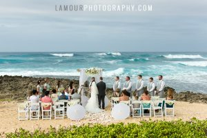 hawaii wedding ceremony on oahu at turtle bay resort