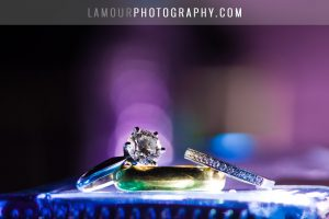 princess cut engagement ring for hawaii wedding