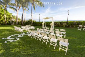 wedding ceremony in Hawaii by L'amour Photography and video