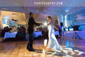 first dance during wedding reception on oahu hawaii