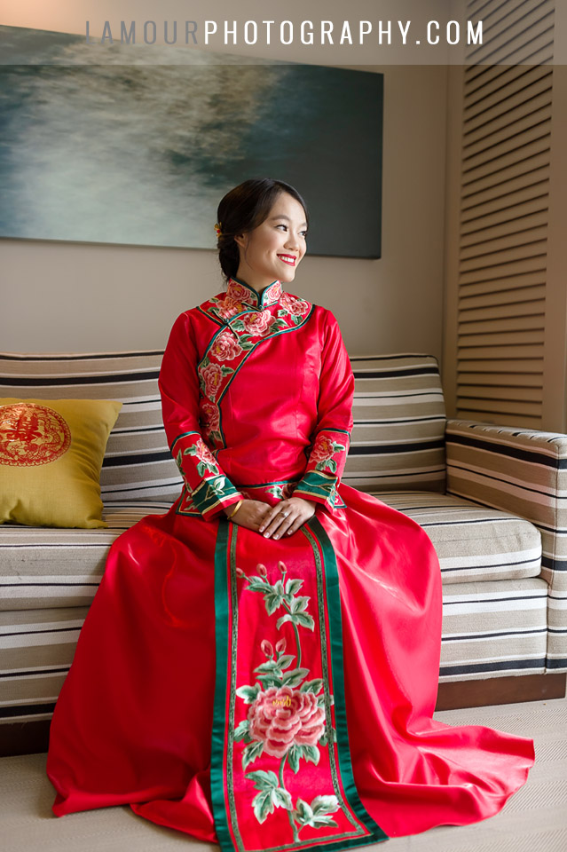 Hawaii wedding photography for Chinese Tea Ceremony