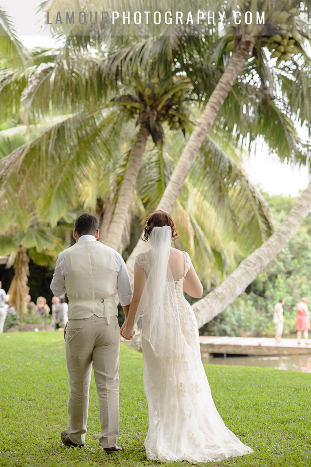 Wedding at Kualoa Ranch in Hawaii with photos and video by L'amour